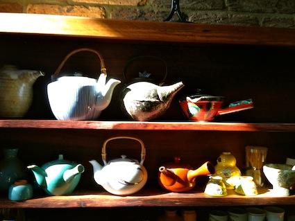 Tea pots in my kitchen