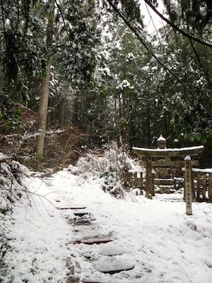 Path to Kobo Daishi's shrine