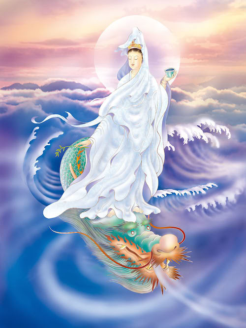 Dragon Kuan Yin