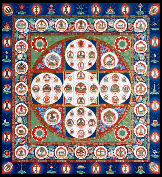 Diamond World Samaya Mandala