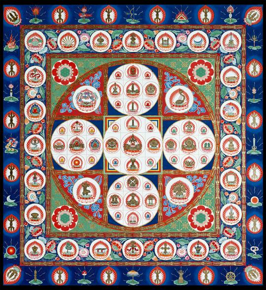 Diamond World Samaya Mandala