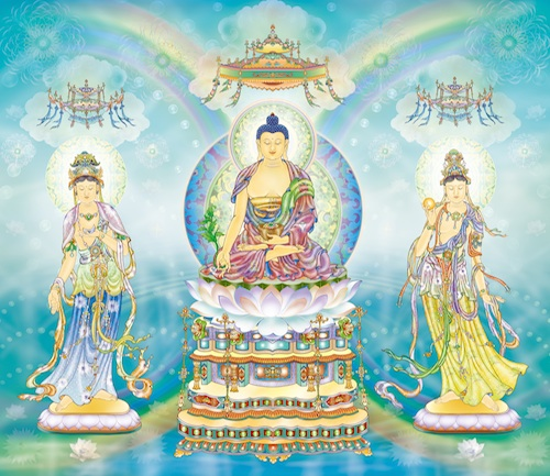 Medicine Buddha - healing with light energy